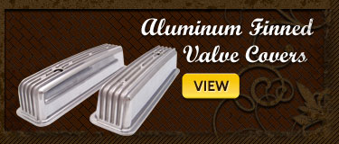 Vintage Finned Valve Covers